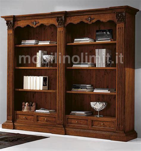 mobili libreria classica libreria classica in stile corinzio con 2 vani a giorno