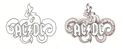 freebies acdc tattoo design by tattoosavage on deviantart