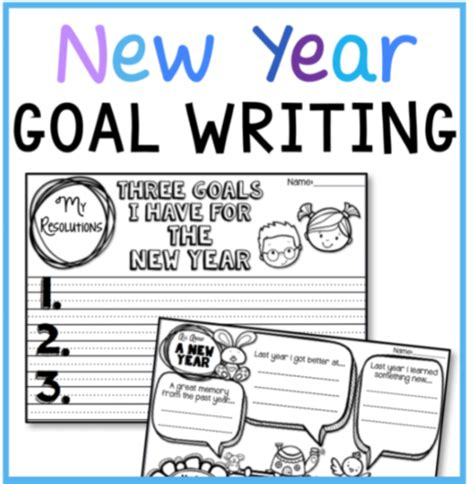 writing templates for the new year free whimsy