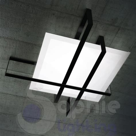 plafoniera moderna soggiorno plafoniera moderna grande 99 cm design moderno minimal