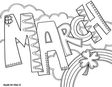 march coloring pages pdf march coloring pages printable coloring home