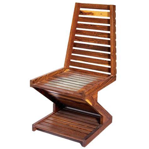 cocobolo desk for sale a rare zig zag cocobolo wood chair don shoemaker for sale