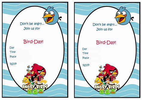 angry birds birthday invitation template free angry birds birthday invitations birthday printable