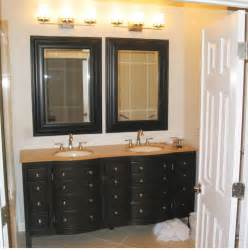 Mirrored Bathroom Vanity Light Brilliant Bathroom Vanity Mirrors Decoration Black Wall