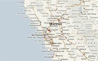 martinez california map martinez location guide