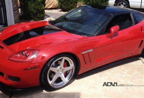 corvette c6 tire size chevrolet corvette custom wheels adv 1 5 concave