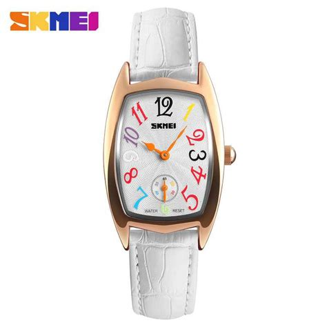 Skmei Casual Leather 9086cl Hitam jual jam tangan wanita skmei casual leather original 1323cl putih