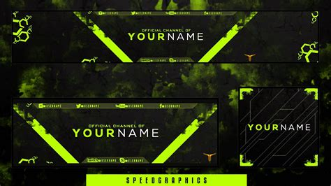 template photoshop gaming free gfx gaming rebrand template v2 banner avatar