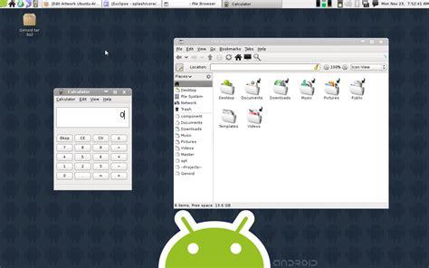 android themes for ubuntu 12 04 genoid android theme for ubuntu ubuntu geek