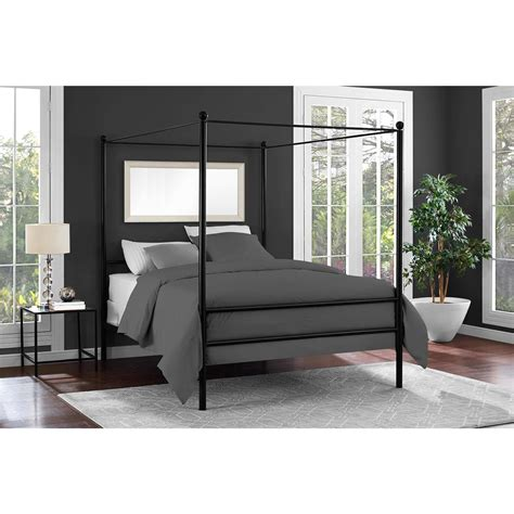 Bed Canopy by Mainstays Metal Canopy Bed Colors