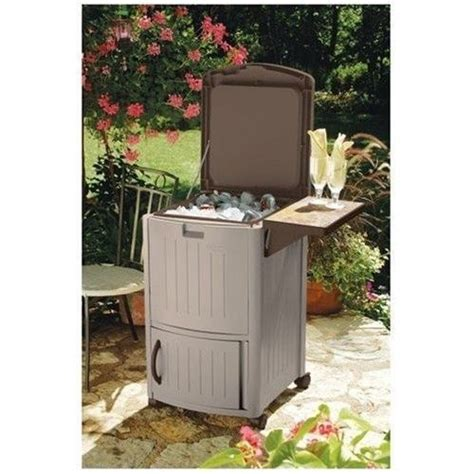 Suncast Patio Cooler by Cooler Patio Pool Beverage Wine Soda Portable