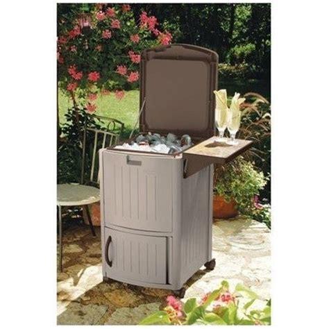 wine cooler furniture sosfund beer wine cooler outdoor furniture beverage patio party