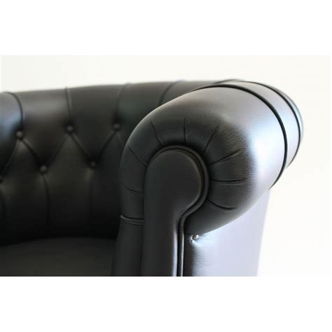poltrone pelle poltrona fumoir pelle anilina nera ibfor your design shop