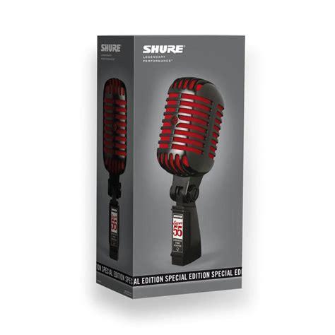 Special Edition Kabel Honolulu shure 55 sonderausgabe mikrofon st 228 nder und kabel bei gear4music