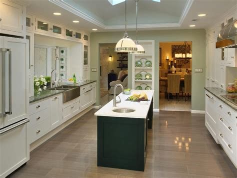 narrow kitchen with island 25 kitchen island ideas home dreamy