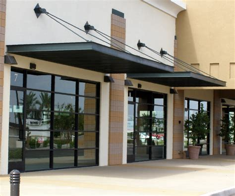Commercial Awnings And Canopies Commercial Aluminum Awning Rainwear