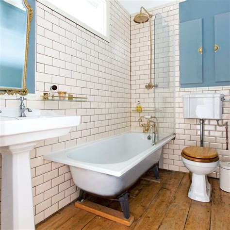 The Blind Slide Traditional Bathroom Pictures Ideal Home
