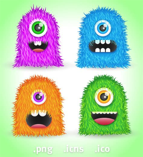 monsters free free icons for mac pc and web