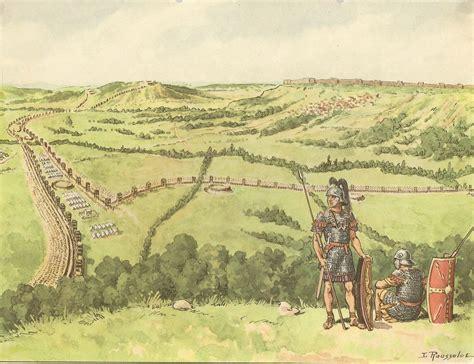 siege alesia vercingetorix
