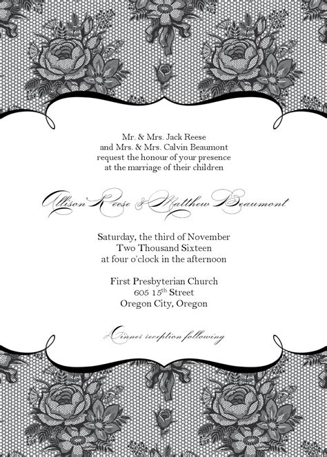 Wedding Invitations On Etsy by Wedding Invitations Wedding Invitation Templates Etsy