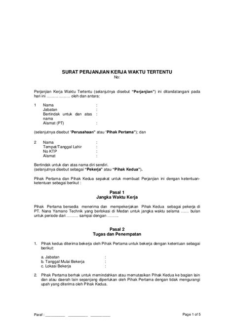Offer Letter Kerja Contoh Offer Latter Search Results Calendar 2015