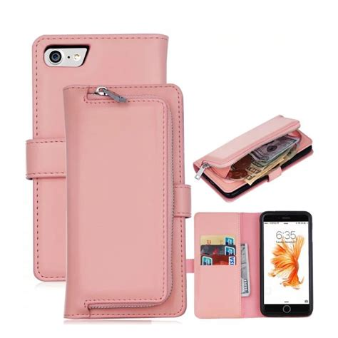 wallet case  cover  apple iphone         flip pu leather case coin