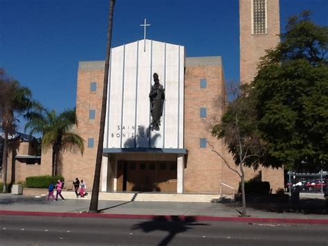 Garden Grove Ca Catholic Church Boniface Catholic Church On Lincoln Ave In Anaheim