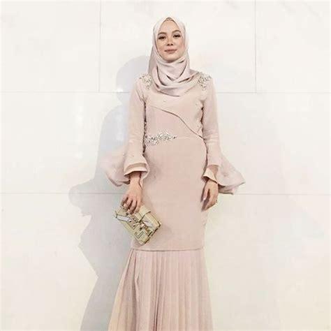 Dress Baju Pesta 25 inspirasi desain gaun pesta muslim terbaru 2018