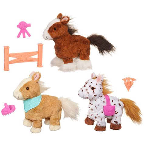 furreal friends walking furreal friends walking ponies wave 1 hasbro furreal friends plush at