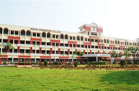 St Joseph College Chennai Mba Fee Structure by Madha Engineering College Chennai Contact Website