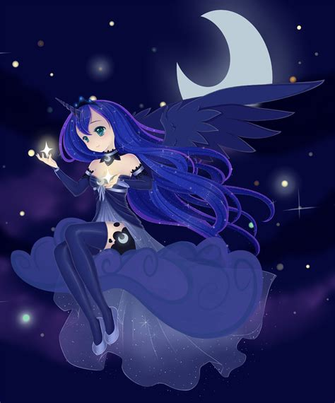 imagenes anime luna mlp princess luna by sylphlox on deviantart