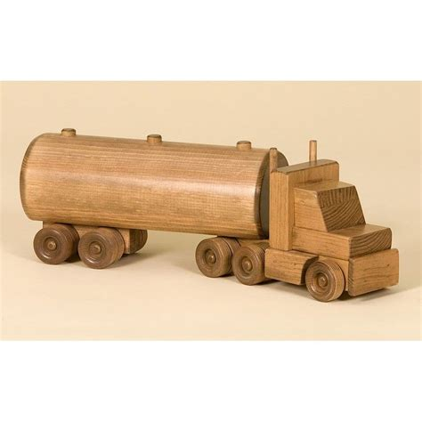 wooden truck amish made large wooden tanker truck gifts for