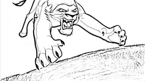 lion king coloring pages kovu kiara and kovu coloring pages coloring home