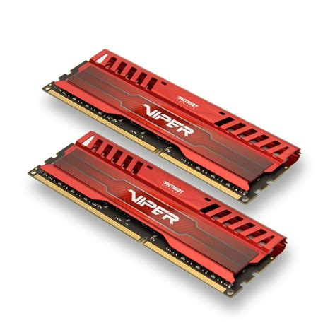 patriot 8gb 2x4gb viper iii ddr3 1866mhz pc3 15000 cl9 desktop memory with gaming heatsink