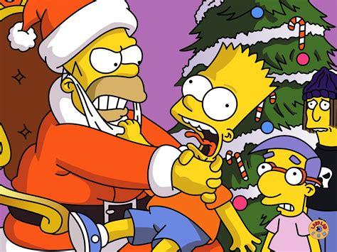 imagenes navidad de los simpson im 225 genes y fondos de los simpson fondos de pantalla y