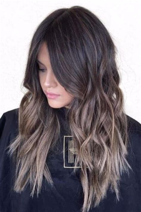 brunettes dramatic hair dramatic sombre for black hair hair colour pinterest