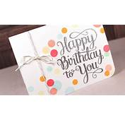 Happy Birthday To You  Make A Card Monday 258 YouTube