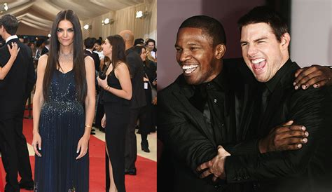 movies tom cruise jamie foxx katie holmes terrified over tom cruise s reaction