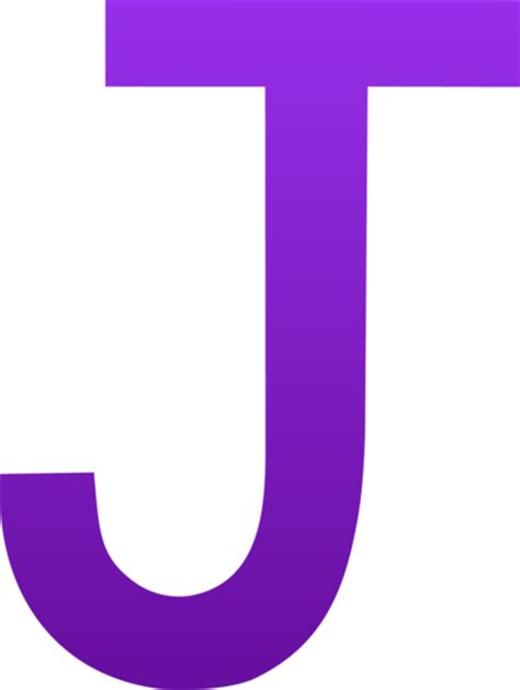The Letter J   Free Clip Art