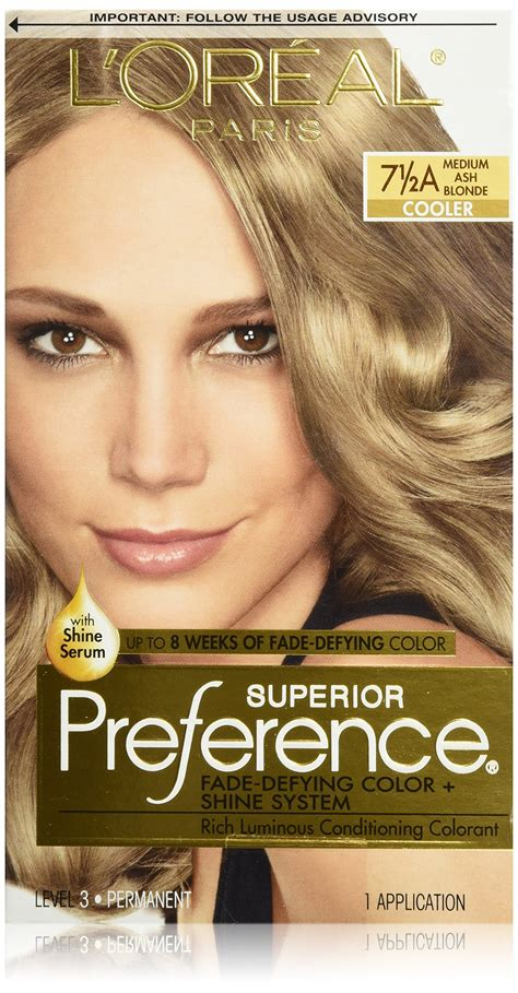 L Oreal Hair Colour l oreal superior preference glam lights
