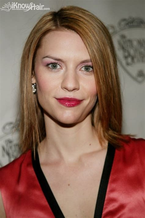 claire danes short hair claire danes hairstyles claire danes straight side swept