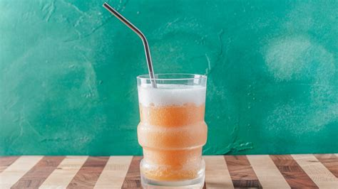 frozen orange creamsicle vodka soda