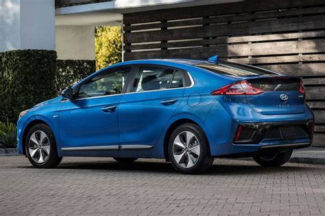 2019 Hyundai Ioniq Electric by 2019 Hyundai Ioniq Adds More Active Safety Equipment