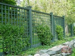 Trellis Fencing Lattice Screen Fence Gardens Patios Porches