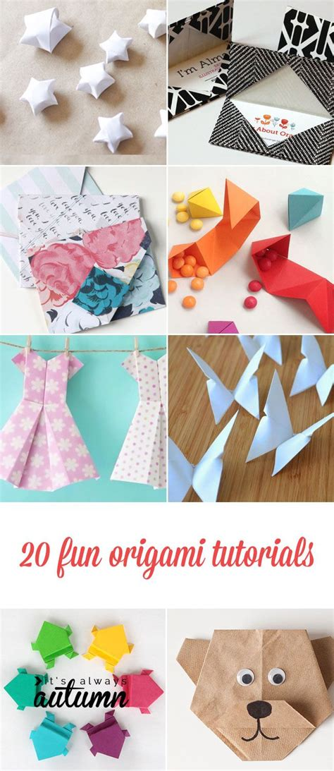 Origami For Adults - 20 origami tutorials for adults and glasses
