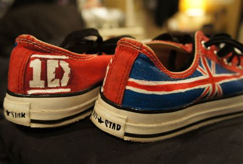 one direction shoes for one direction shoes converse sneakers from kaitlynferruggia on