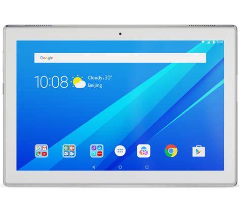 buy lenovo tab 4 plus 10 quot tablet 16 gb white free