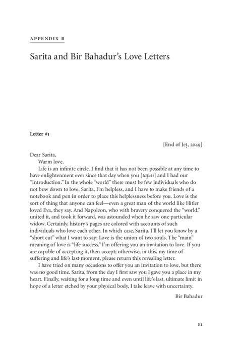 love letter template for him letter simple exle