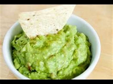 how to make guacamole avocado dip easy recipe youtube