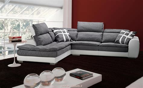 divano pelle e tessuto freddo 4 divano angolare pelle e tessuto jake vintage